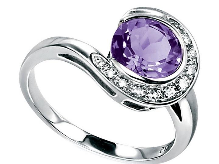 cincin emas putih kombinasi