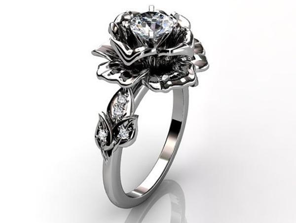 Model Bunga Untuk Cincin Nikah Unik