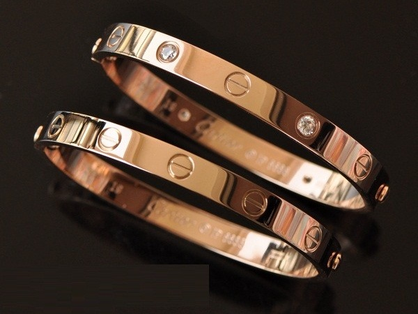 Gelang Couple Model Emas Elegan