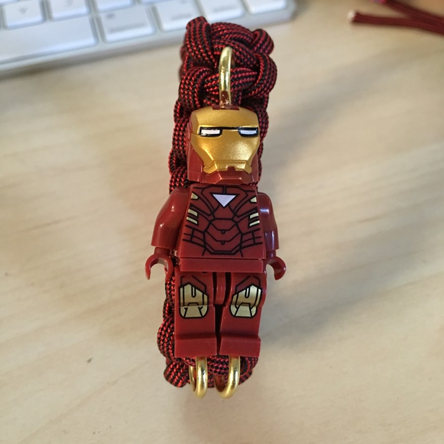 Gelang Lego Karakter Ironman
