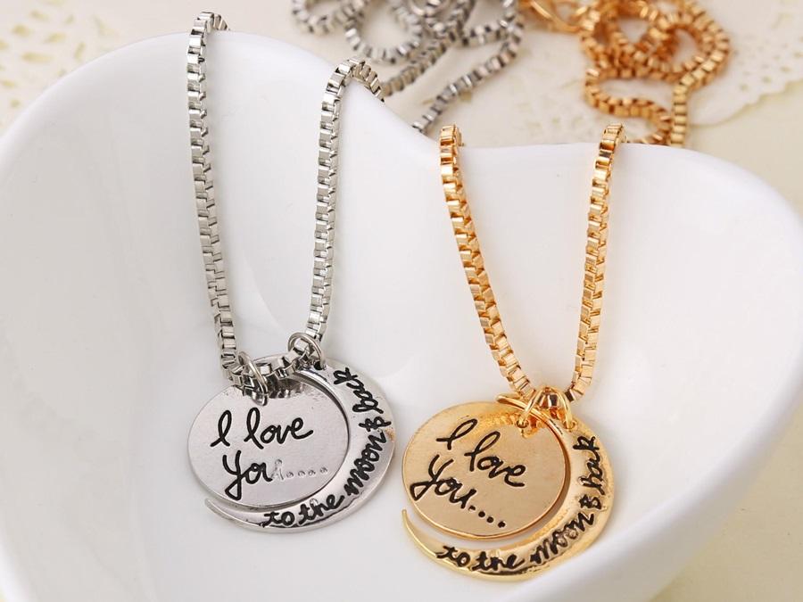 Kalung Korea Emas Perak