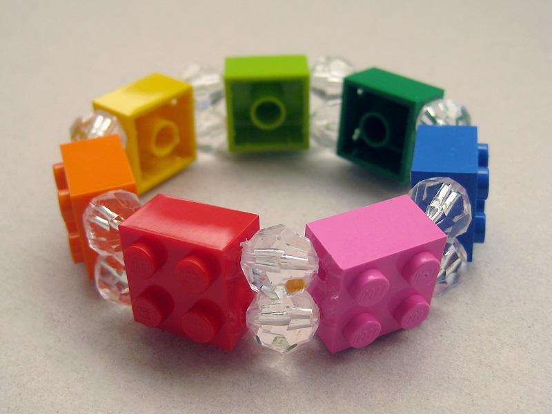 Model Gelang Lego Warna Warni