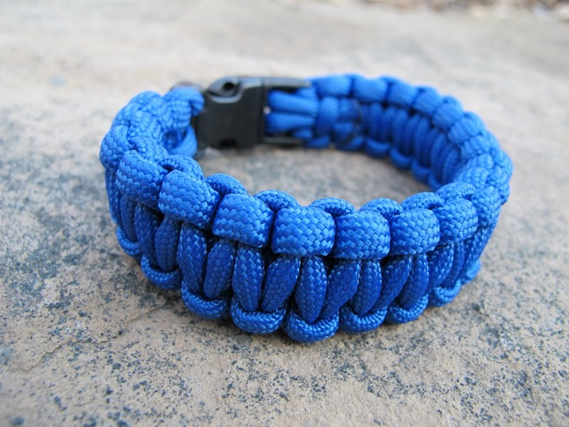 Model Gelang Prusik Warna Biru