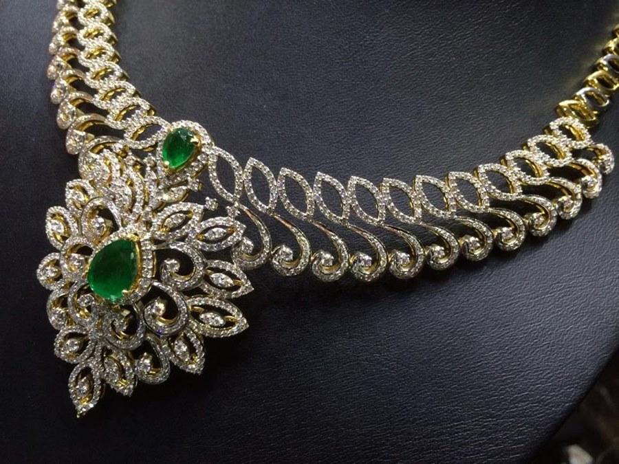 Model Kalung Berlian Cantik Elegan