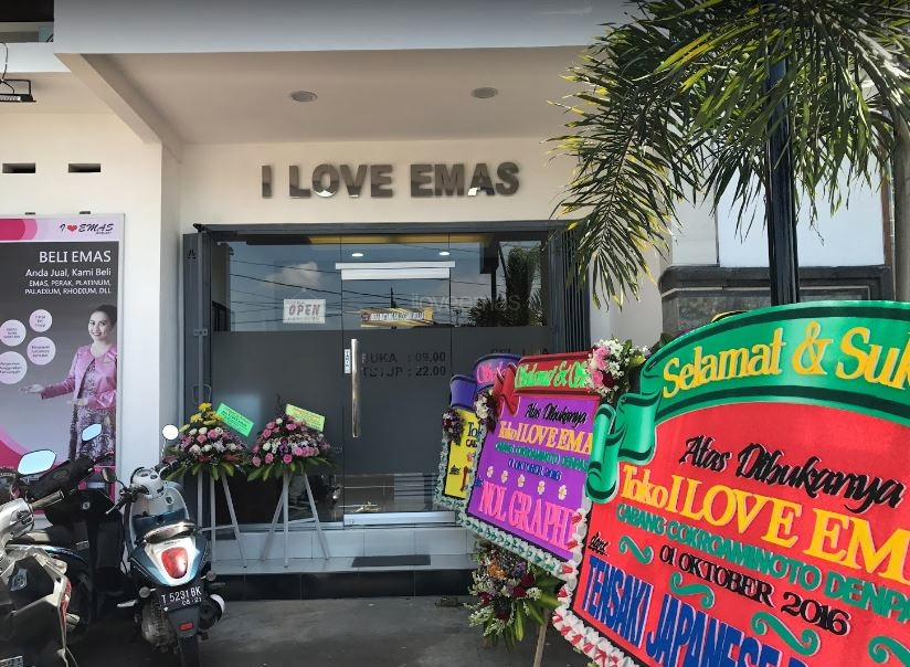 I Love Emas Cokroaminoto Denpasar