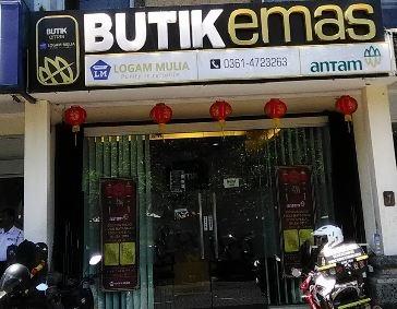 PT Antam (Persero) Tbk, Butik Emas Logam Mulia Bali Denpasar
