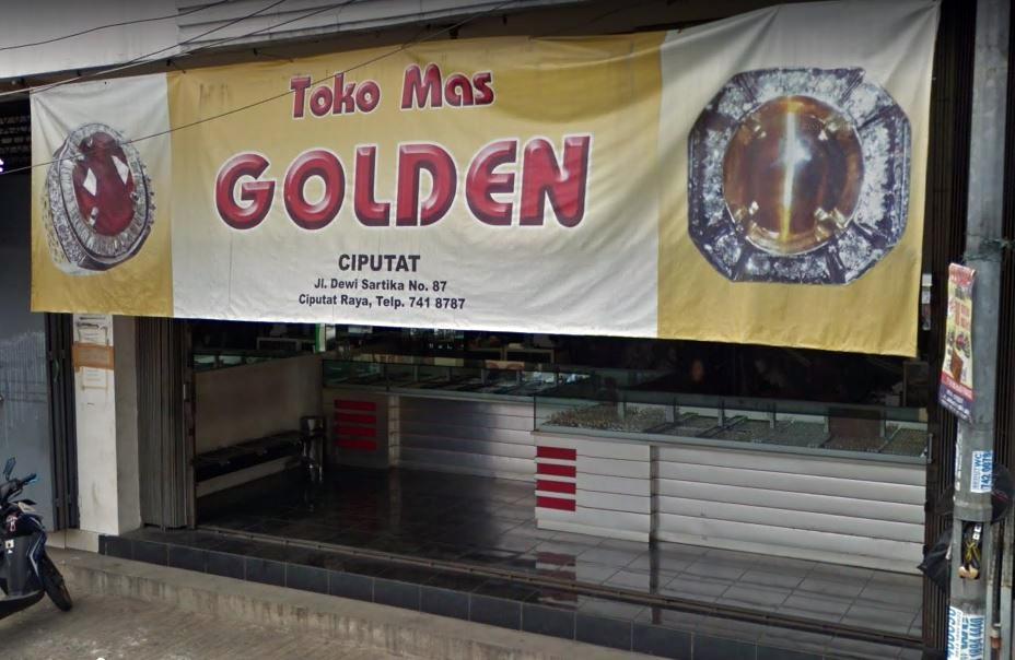 Toko Mas Golden Tangerang