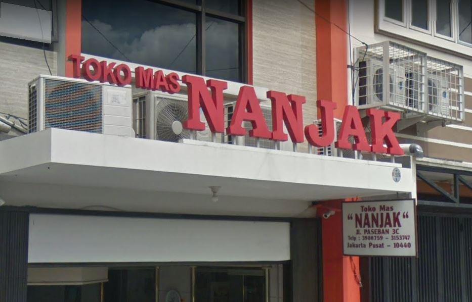 Toko Mas Nanjak Jakarta Pusat