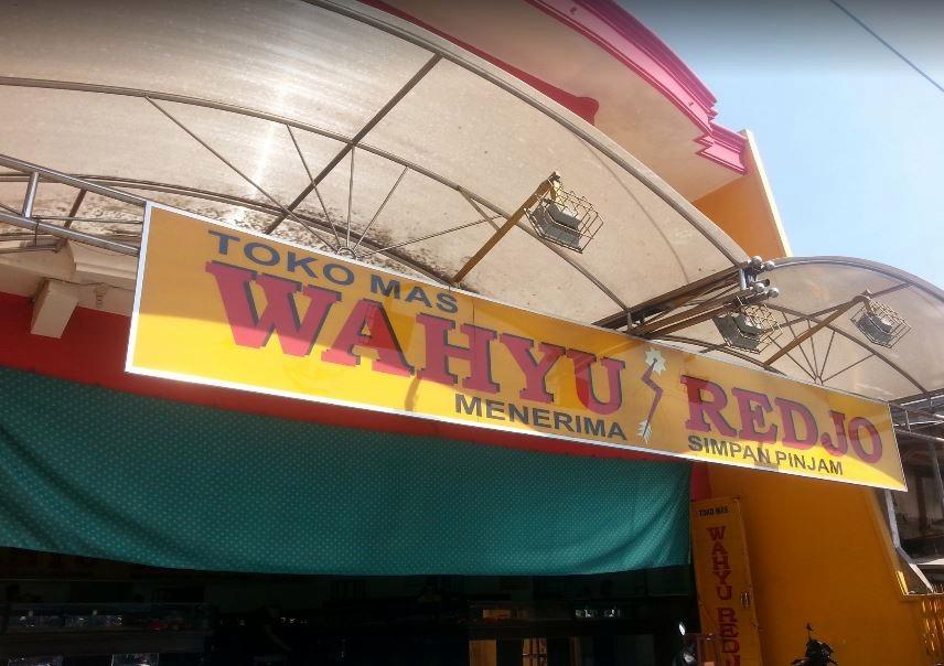 Toko Mas Wahyu Rejo Sidoarjo