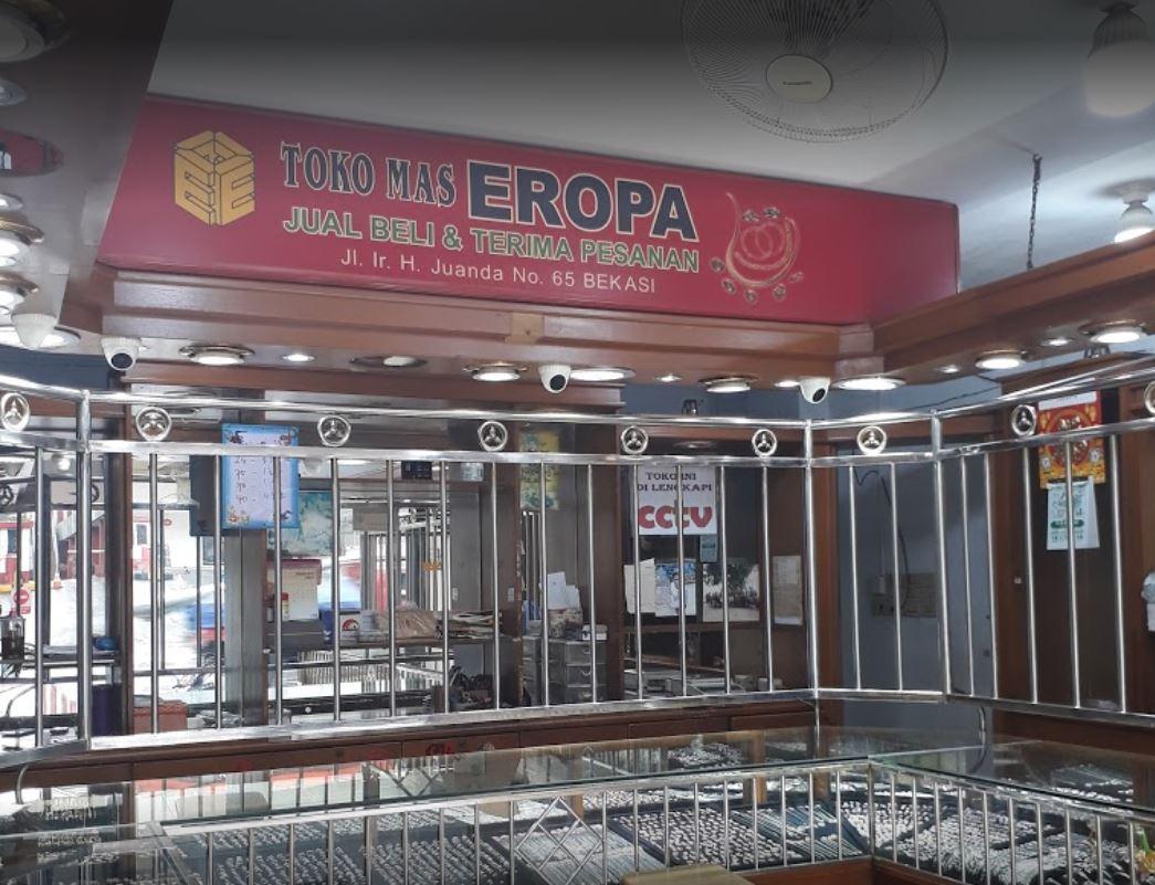Toko Emas Eropa Bekasi