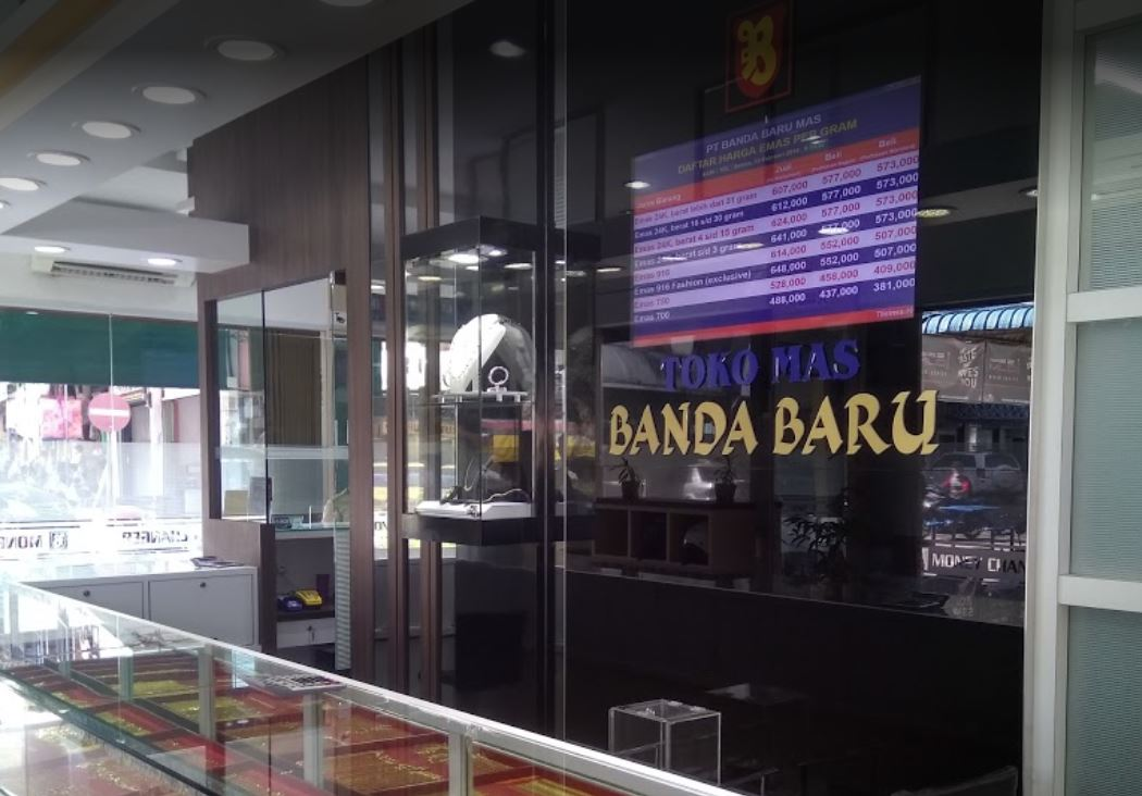 Toko Emas Banda Baru & Money Changer Batam