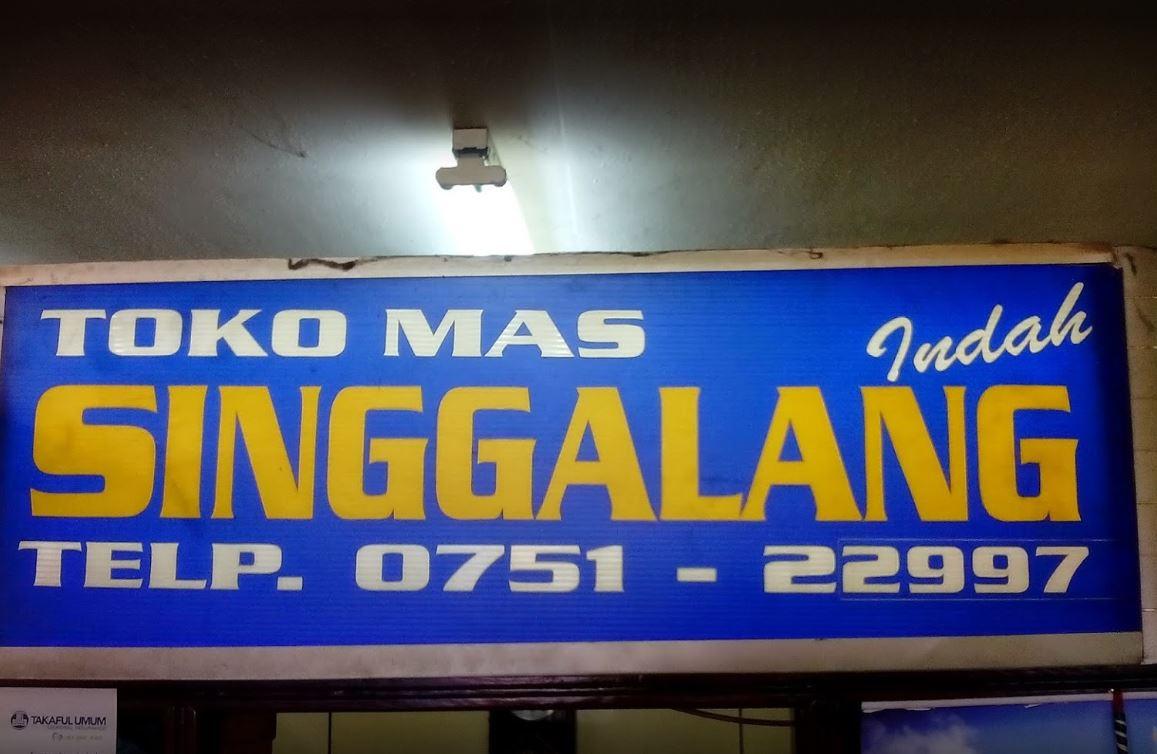 Toko Emas Padang Singgalang Indah Jewelry