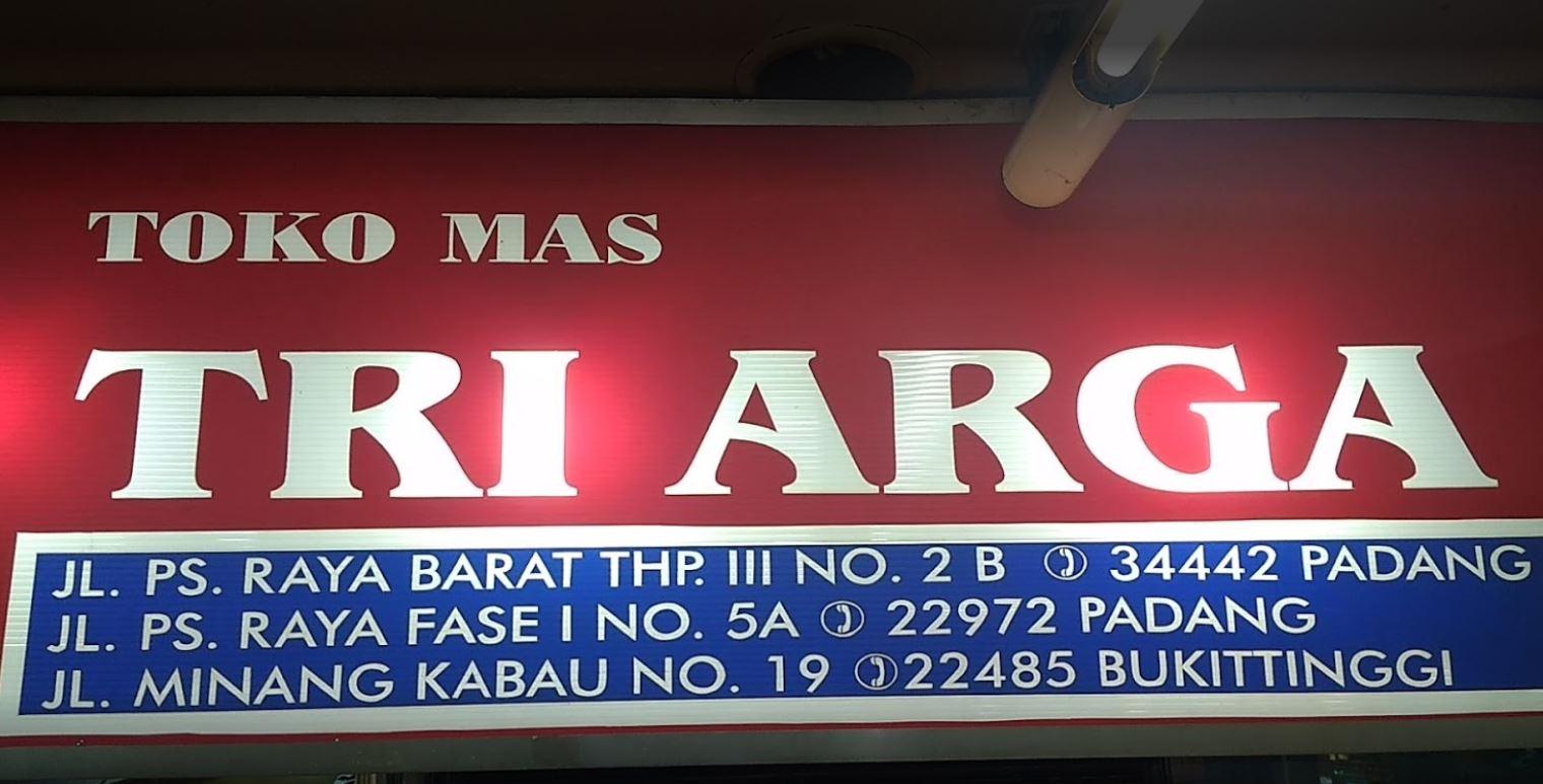 Toko Emas Tri Arga Padang