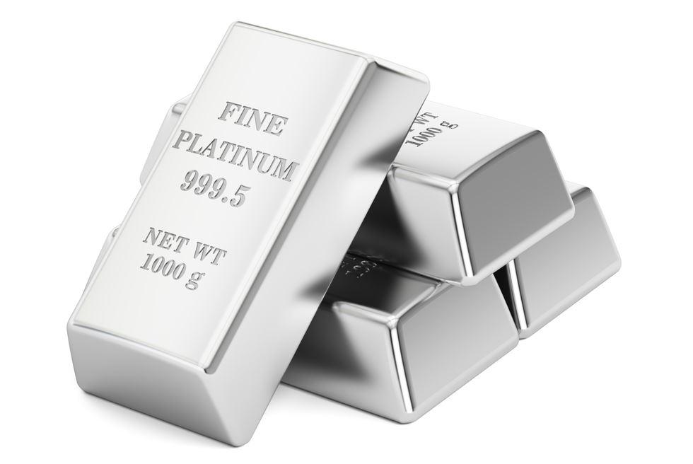 Platinum per Gram Hari Ini